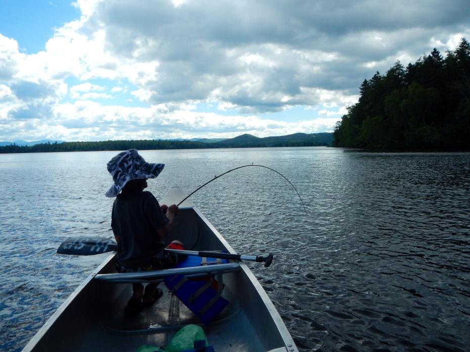 Fishing Lake Umbagog, NH