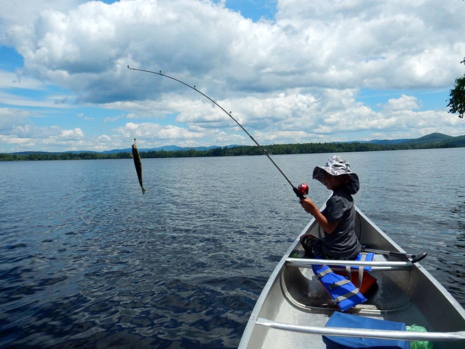Kristhawee caught a northern pike on Lake Umbagog :)