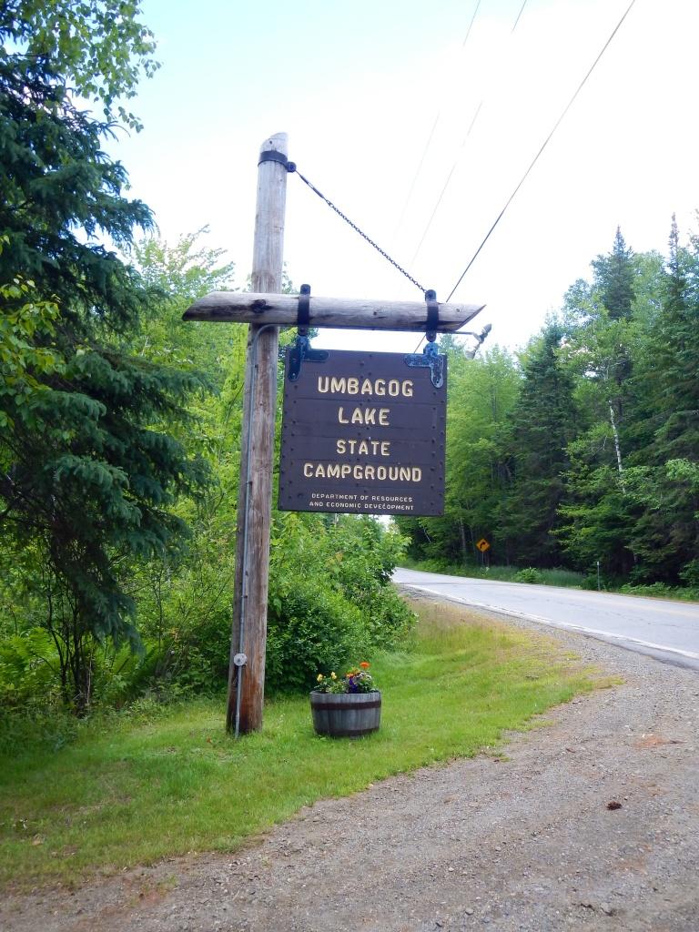 Umbagog Lake State Campground, NH, USA