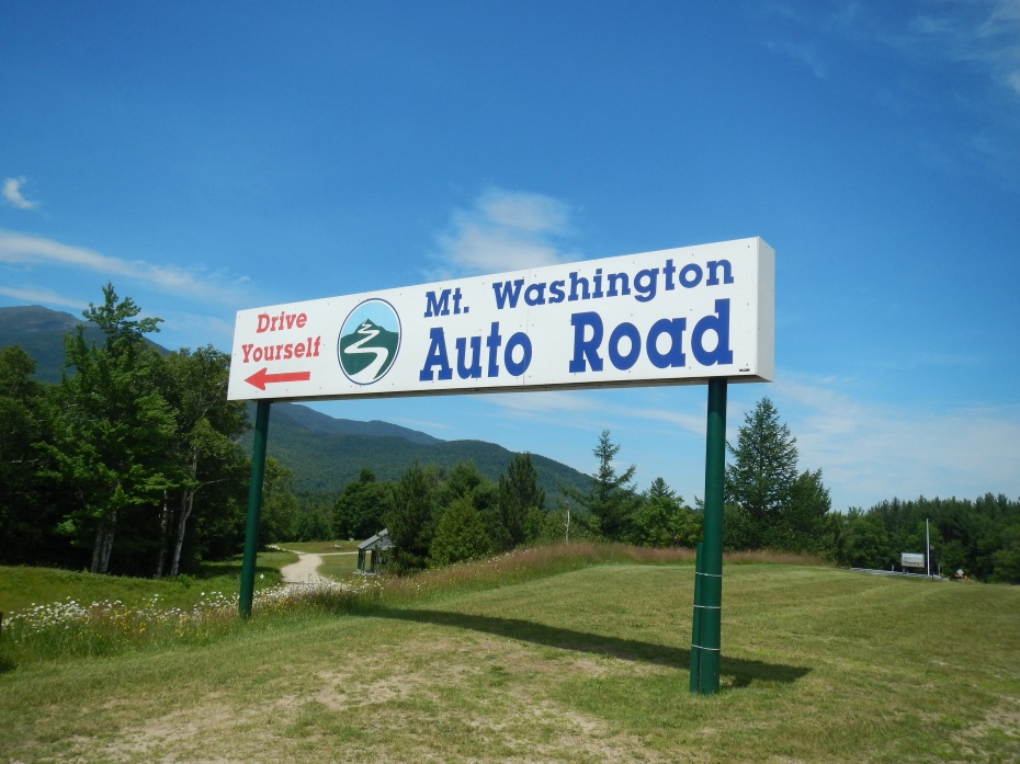 Mt Washington Auto Road, White Mountins, NH