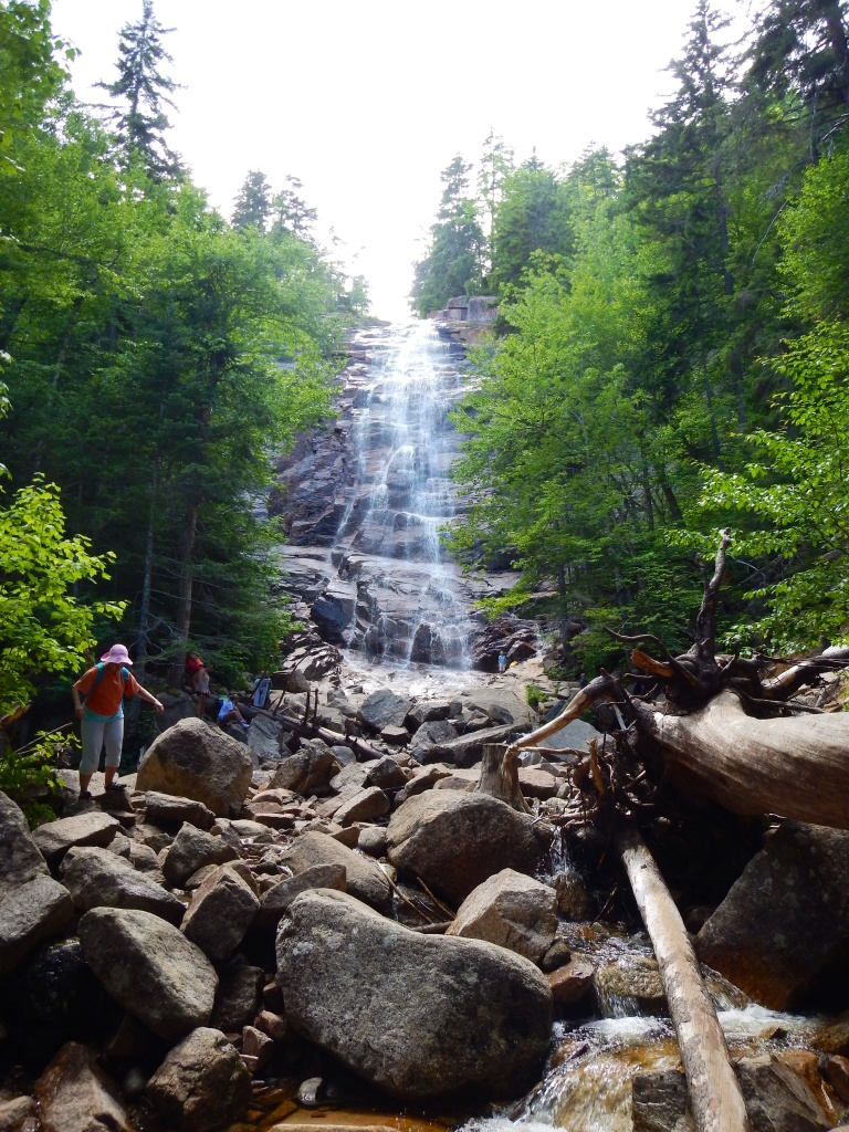 Arethusa Falls, Crawford Notch State Park, New Hampshire, USA