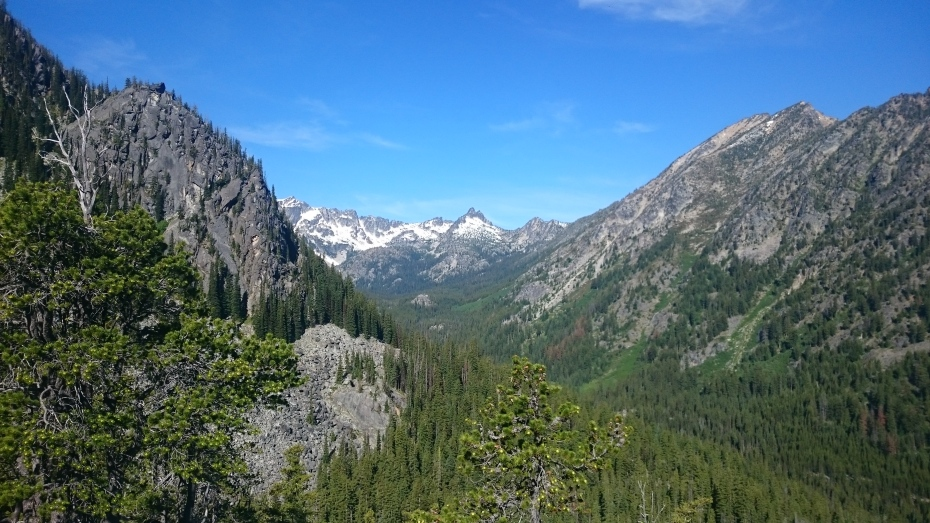 View from the Stuart Lake Trail
